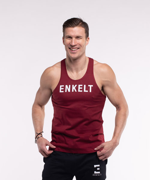 Training Tank Top Winered